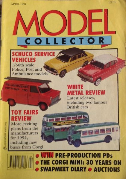 ORIGINAL MODEL COLLECTOR MAGAZINE April 1994